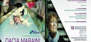 Dacia Maraini si racconta agli studenti del Seguenza