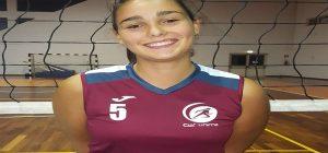 La cussina Clara D'Arrigo nella Rappresentativa Siciliana per il Trofeo delle Regioni di beach volley
