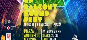 """Questa sera a Piazza Antonello """"Up balcòny Sound Fest"""""""