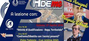 Volley – 5 giorni di grande formazione a Messina