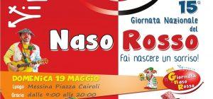 Giornata del Naso Rosso, Domenica 19 Maggio a Piazza Cairoli